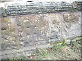 SJ3971 : Cut Mark: Railway Bridge, Lea by Backford by VBForever
