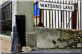 J0858 : Wall and gate protection, Lurgan (1) by Albert Bridge