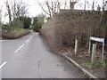 SJ2977 : The top of Buggen Lane by John S Turner