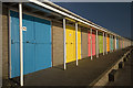 TA1967 : Beach huts, Bridlington : Week 9