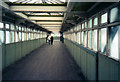 SK5739 : Nottingham Station footbridge, 1997 by John Sutton