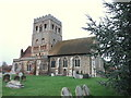 TL8925 : St Barnabas Church, Great Tey by PAUL FARMER