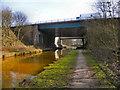 SD7400 : Bridgewater Canal, M60 Motorway by David Dixon