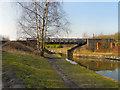 SD7200 : Bridgewater Canal, Booth's Hall Bridge by David Dixon