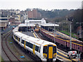 TQ8109 : Trains at Hastings Station by Oast House Archive