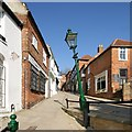 SK9771 : Steep Hill, Lincoln by Dave Hitchborne