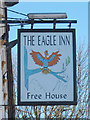 TR3141 : The Eagle Inn sign by Oast House Archive