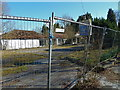 SJ8080 : Derelict Garage near Knolls Green, Cheshire by Anthony O'Neil