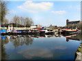 SJ6699 : Bridgewater Canal, Bedford Basin by David Dixon
