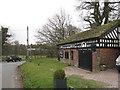 SJ8775 : Black Greyhound Smithy, Over Alderley by Peter Turner