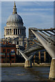 TQ3280 : The Millennium Bridge, London : Week 12