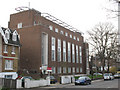 Dist:0.2km<br/>The building is on St Mary's Road, and serves the New Cross / Peckham phone area.