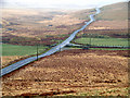 SN8674 : The mountain road from Rhayader to Cwm Ystwyth at Bodtalog : Week 13