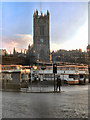 SJ8398 : Victoria Bus Station &amp; Manchester Cathedral by David Dixon