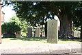 SP1798 : St John the Baptist, Church, Graveyard  (2) by Chris' Buet