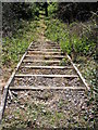 TM3053 : Steps to the footpath to Lower Ufford Road &amp; Spring Lane by Adrian Cable