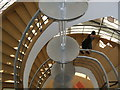 TQ7407 : De La Warr Pavilion Staircase by Paul Gillett