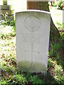 TQ3760 : War grave (First World War), St Mary the Virgin, Farleigh by Christopher Hilton