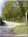 TM2751 : Bridleway to the A12 Melton Bypass by Adrian Cable