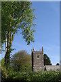 SX1662 : Church tower by Clare Pinnock