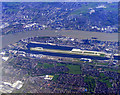 TQ4281 : London City Airport from the air by Thomas Nugent