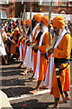 TQ1280 : Vaisakhi procession in Southall by Hugh Chevallier