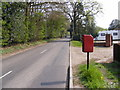 TG1919 : Short -Thorn Road &amp; Short -Thorn Road Postbox by Adrian Cable