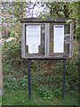 TG1819 : Hevingham Village Notice Board by Adrian Cable