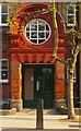 TQ3184 : Entrance doorway, Thornhill House, Islington : Week 16