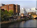 SJ8398 : River Irwell, Manchester and Salford by David Dixon
