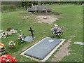 SP8901 : Roald Dahl's Grave and Memorial Seat, Great Missenden by David Hillas
