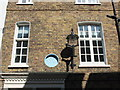 TQ2880 : Sign and lamp at number 6 Derby Street, Mayfair by PAUL FARMER