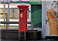 J3574 : Pillar box, Belfast by Albert Bridge