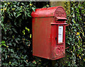 J2357 : Letter box near Hillsborough by Albert Bridge