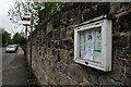 SK2572 : Community notice board by David Lally