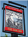 TR0161 : The Sun Inn sign by Oast House Archive