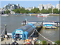 TQ3080 : The Thames at Festival Pier by Colin Smith