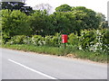 TM2468 : Tannington Postbox by Adrian Cable