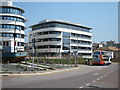 TQ8109 : NHS building, Station Plaza by Oast House Archive