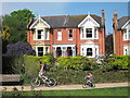 TQ8010 : Houses on St Helen's Road by Oast House Archive