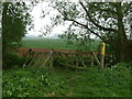 SP9837 : Footbridge by Dennis simpson