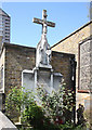 TQ3779 : St Luke, Havannah Street, Millwall - Calvary by John Salmon