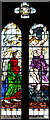 TQ4973 : St John the Baptist, Parkhill Road, Bexley - Stained glass window by John Salmon