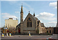 TQ4973 : United Reformed Church, Parkhill Road, Bexley by John Salmon