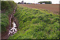 NU0541 : Drainage Ditch, West Mains by wfmillar