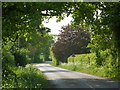SP2388 : Fillongley Road, looking west by Andrew Hill