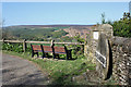 SE6890 : Seat at Surprise View by Pauline Eccles