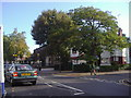 TQ2487 : Golders Green Road opposite junction with Powis Gardens by David Howard