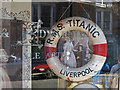 TA0488 : Shop window, Scarborough by Pauline Eccles
