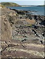SW9277 : Rocks, Trebetherick Point by Derek Harper